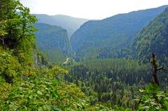 Höhe in den Bergen stockbild