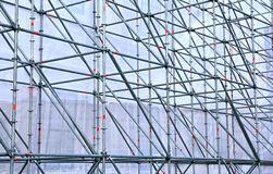 Höhenauslegung der Aluminiumgefäße Stockfotografie
