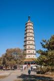 Höhenkurort Hebeis Chengde stupa Lizenzfreie Stockfotografie