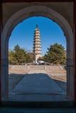 Höhenkurort Hebeis Chengde stupa Stockfoto