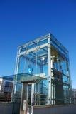 Höhenruder an der U-Bahnstation Lizenzfreie Stockfotografie