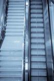 Höhenruder in der Untergrundbahn Stockbilder