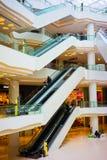 Höhenruder des Einkaufszentrums Stockbilder