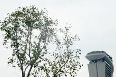 Höher als Marina Bay Sands Lizenzfreie Stockbilder