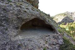 Höhle auf Camino Del Ray Stockbilder