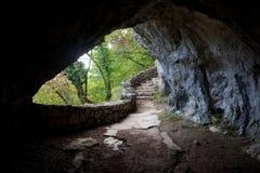 Höhle-Ausgang Lizenzfreies Stockbild
