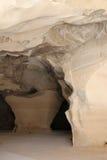 Höhle bei Beit Guvrin Stockfoto