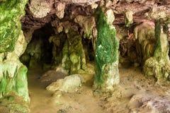 Höhle bei Railay Lizenzfreies Stockfoto