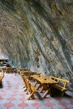 Höhle caffe Stockfotografie