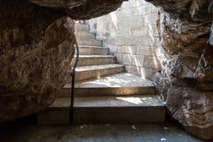 Höhle in der Fußwurzel, Mersin Lizenzfreies Stockfoto