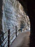 Höhle in der Schweiz Lizenzfreies Stockbild