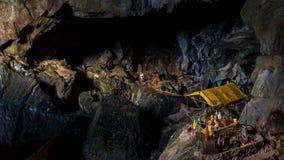 Höhle des Friedens Stockfotos