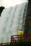 Höhle des Wind-Ausflugs, Niagara lizenzfreie stockfotografie