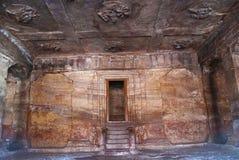 Höhle 03: Die Halle und die Decke der Halle Stockbilder