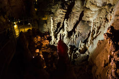 Höhle Emine Bair Khosar in Krim Stockfoto