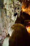 Höhle Emine Bair Khosar in Krim Lizenzfreie Stockfotografie