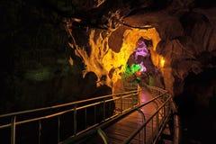 Höhle Gua Kelam Kelam stockbild