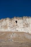 Höhle im alten Felsen Lizenzfreie Stockfotografie