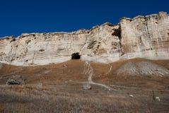 Höhle im Felsen Stockbild
