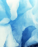 Höhle im Gletscher Stockfoto
