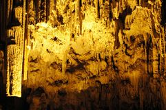 Höhle Kreta-Melidoni Lizenzfreie Stockfotos