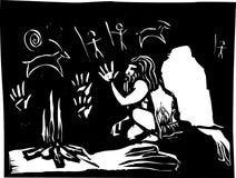 Höhle-Kunst Lizenzfreies Stockfoto