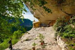 Höhle monasterry, Chelter-Koba lizenzfreie stockfotos
