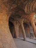 Höhle-Park Guell Stockbilder