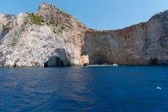 Höhle von Zakynthos-Insel Lizenzfreie Stockfotos