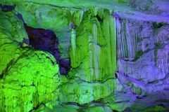 Höhle Wuling Furong lizenzfreies stockbild
