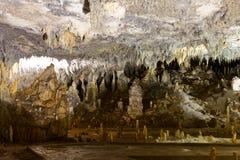Höhlegalerie in der Ledenika Höhle lizenzfreie stockfotos