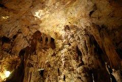 Höhleinnenraum Stockfoto
