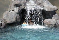 Höhlekinder Stockbild