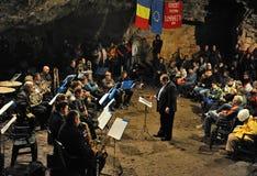 Höhlekonzert stockbilder