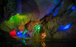 höhlen Stockfotografie