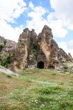 Höhlen in Anatolien, die Türkei Lizenzfreie Stockfotos