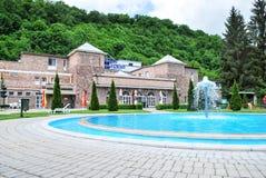 Höhlen-Bad von Miskolc-Tapolca in Ungarn Stockfotografie