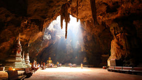 Höhlen-Buddhismus Phetchaburi Thailand Lizenzfreie Stockfotos