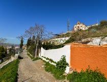 Höhlen-Gemeinschaft in Granada - Spanien lizenzfreie stockfotos