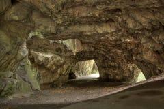 Höhlen Sie Jachymka in Moravian-Karst, Tschechische Republik aus Lizenzfreie Stockbilder