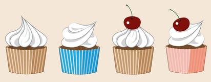 Höhlen Sie Kuchen Stockbilder