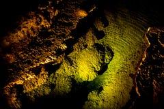 Höhlen und Höhlen stockfotos