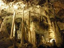 Höhlen von Han Stockbild