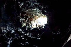 Höhlen von Island Lizenzfreie Stockfotografie