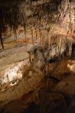 Höhlen von Mallorca lizenzfreies stockfoto