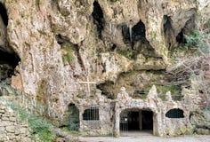 Höhlen von Valganna, Varese, Italien Lizenzfreie Stockfotos