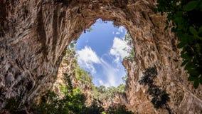 Höhlendecke stockbild