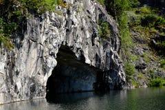 Höhlenwassermarmor Lizenzfreie Stockbilder