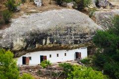 Höhlenwohnung Stockfotos