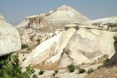 Höhlestadt in Cappadocia, die Türkei Stockfotografie